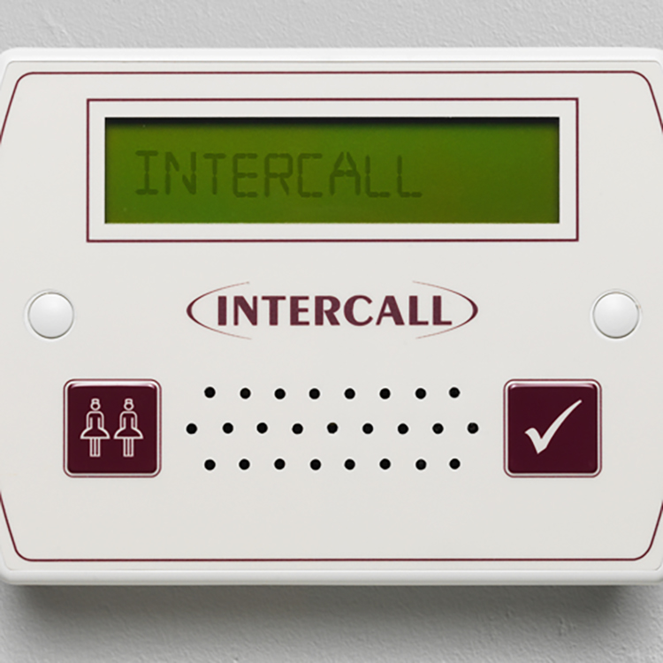 Photo of an Intercall warden call system