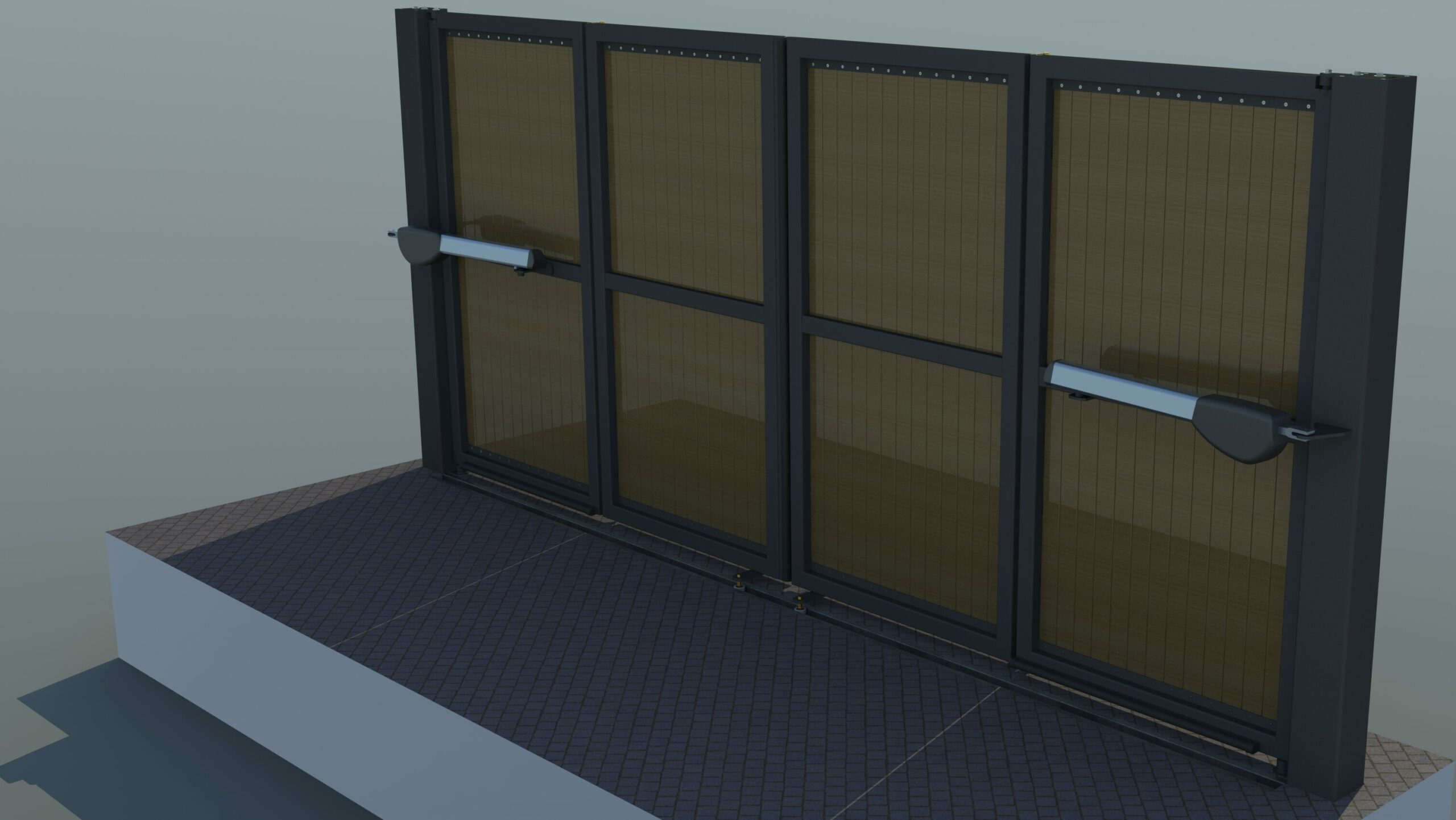 Rendering of automatic PVC gates