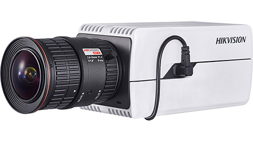 Photo of Hikvision ANPR camera