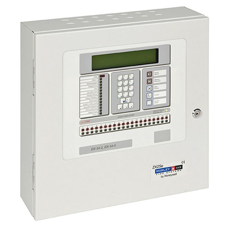 Photo of Honeywell fire control panel