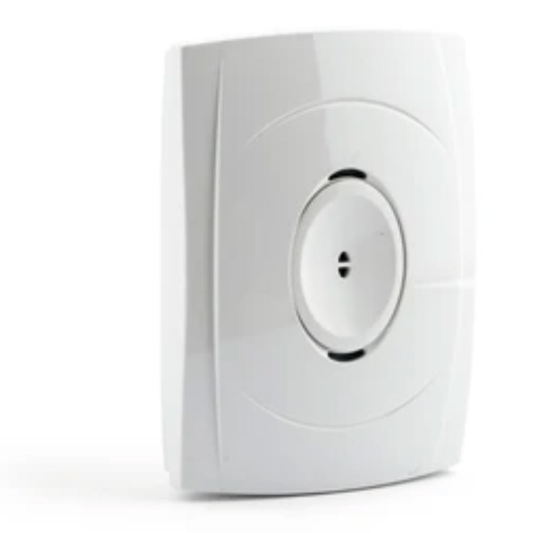 Photo of an acoustic break glass detector