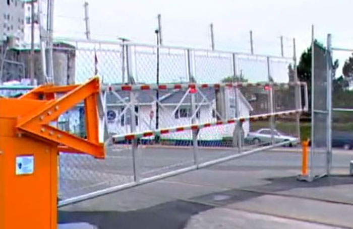 Automatic Rising Fence Traffic Barrier