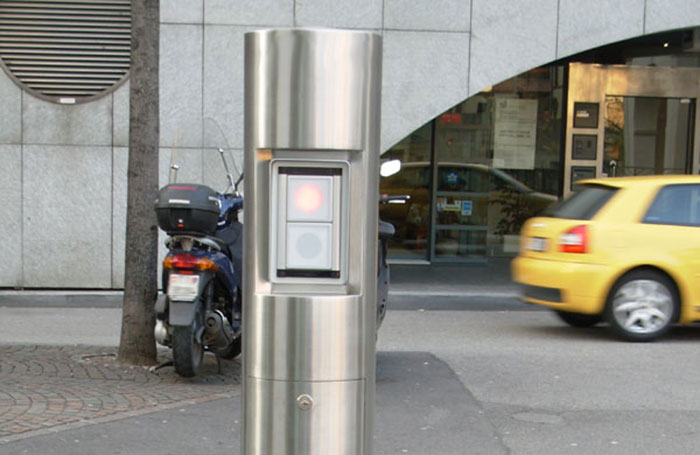 Custom designed communication pole with integrated traffic control system