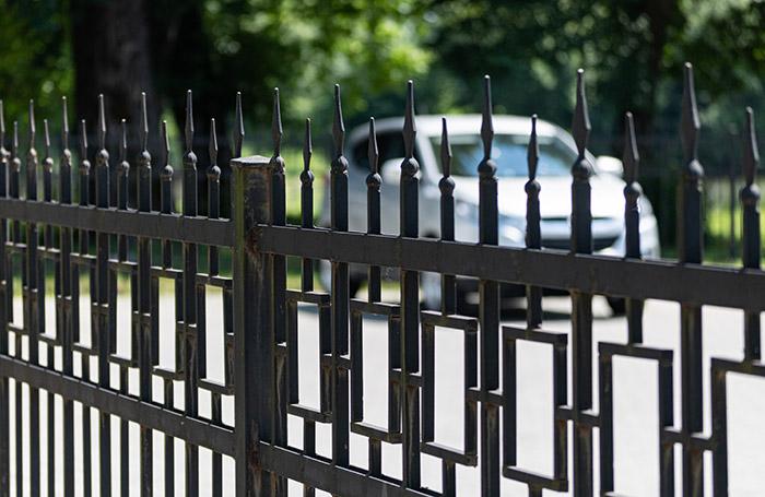 Photo of decorative railings