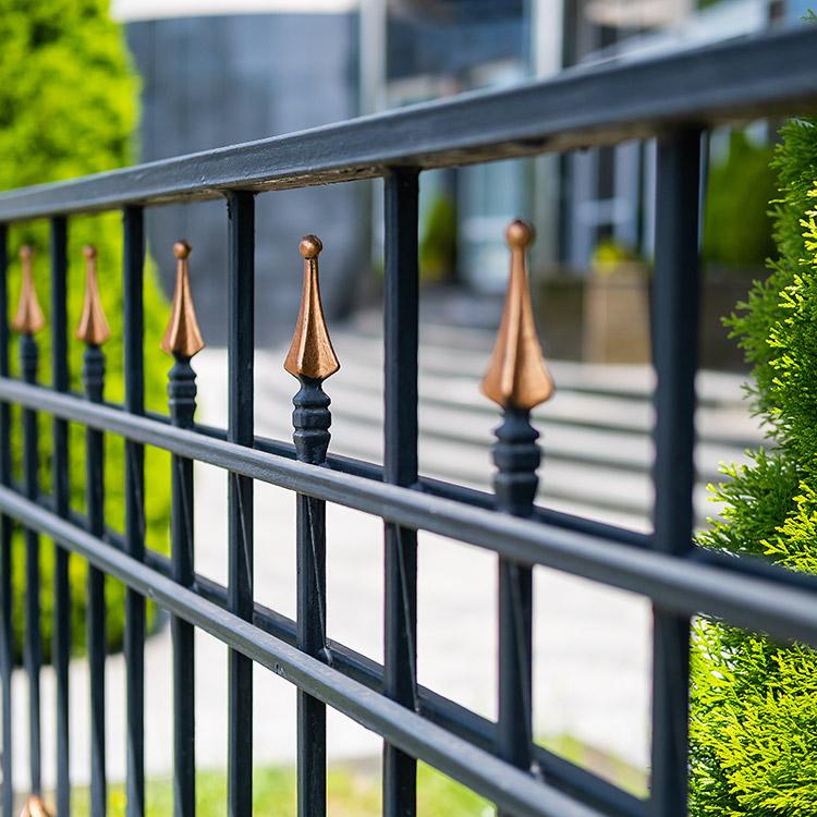 Photo of decorative railing