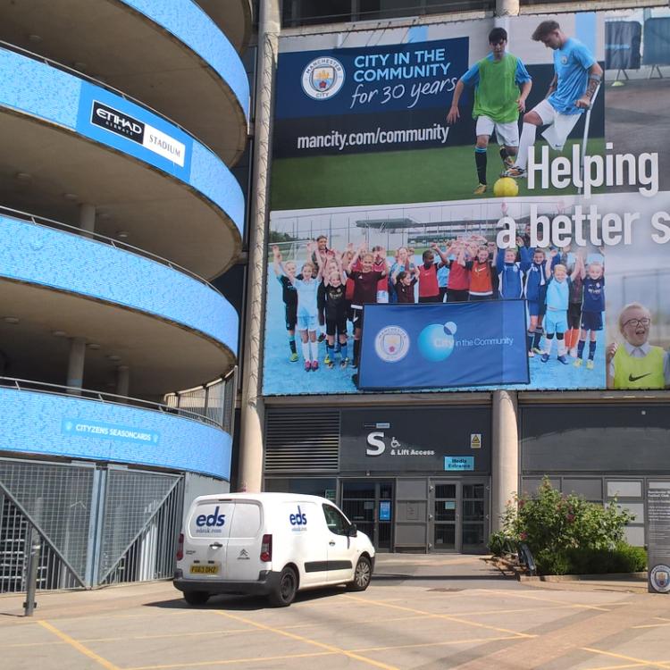 Manchester City Turnstiles