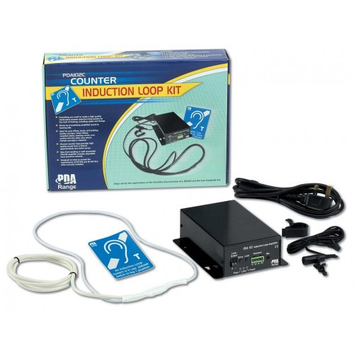 Photo of free standing induction loop kit