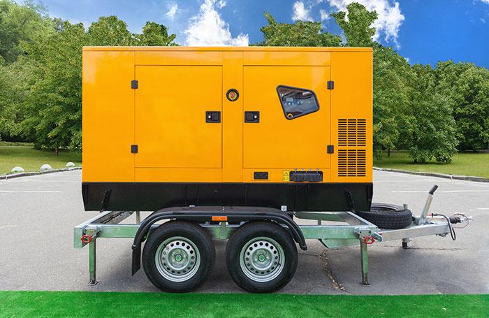 Portable backup power generator