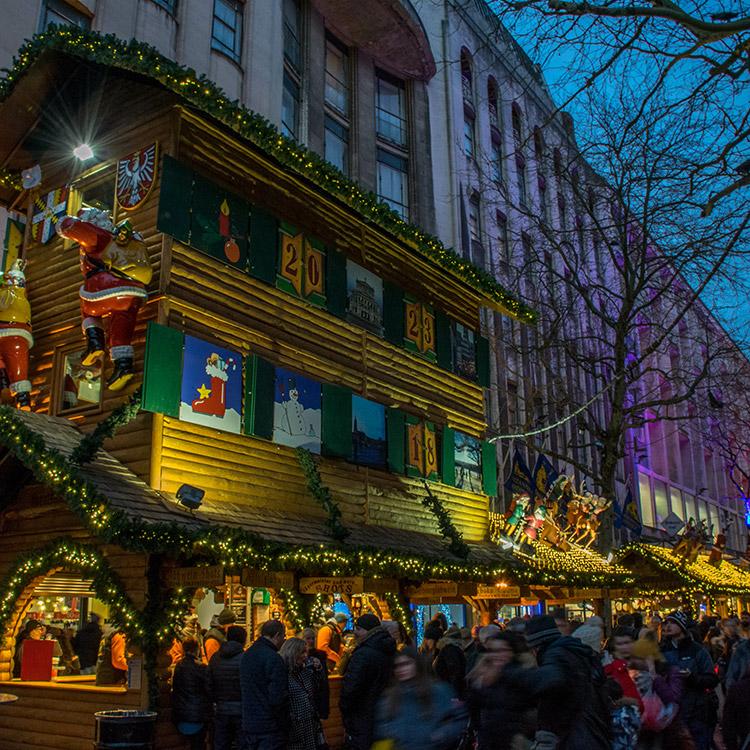 Photo of Birmingham's Frankfurt Christmas Market