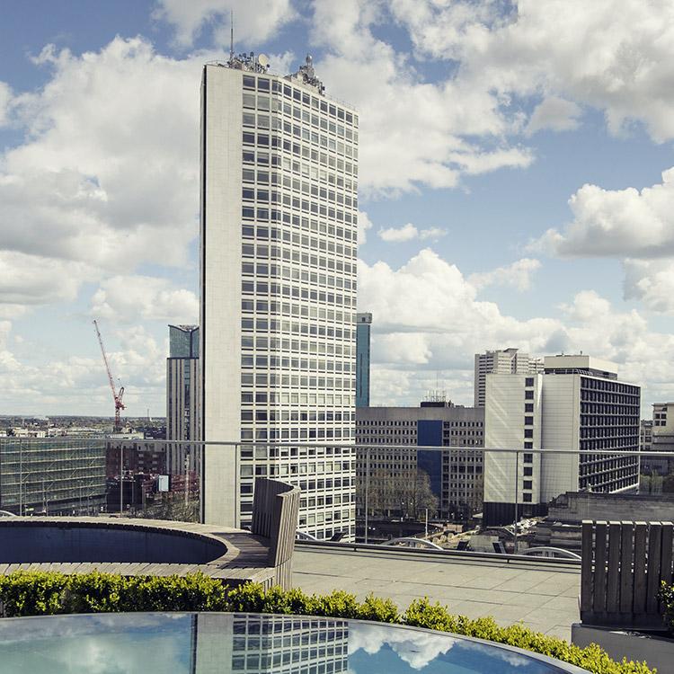 Photo of Alpha Tower, Birmingham's tallest building