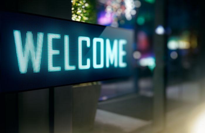 "Custom ""Welcome"" sign"