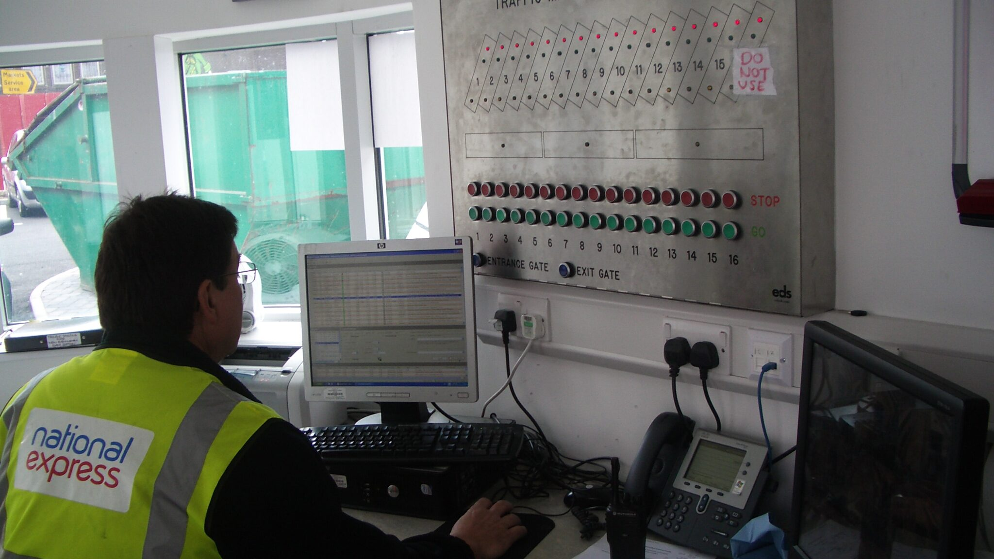 Operation of traffic management system