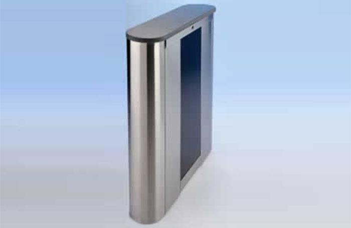 Optical turnstile unit