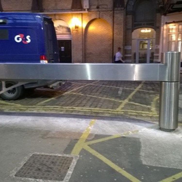 Heavy duty stainless steel swing barrier