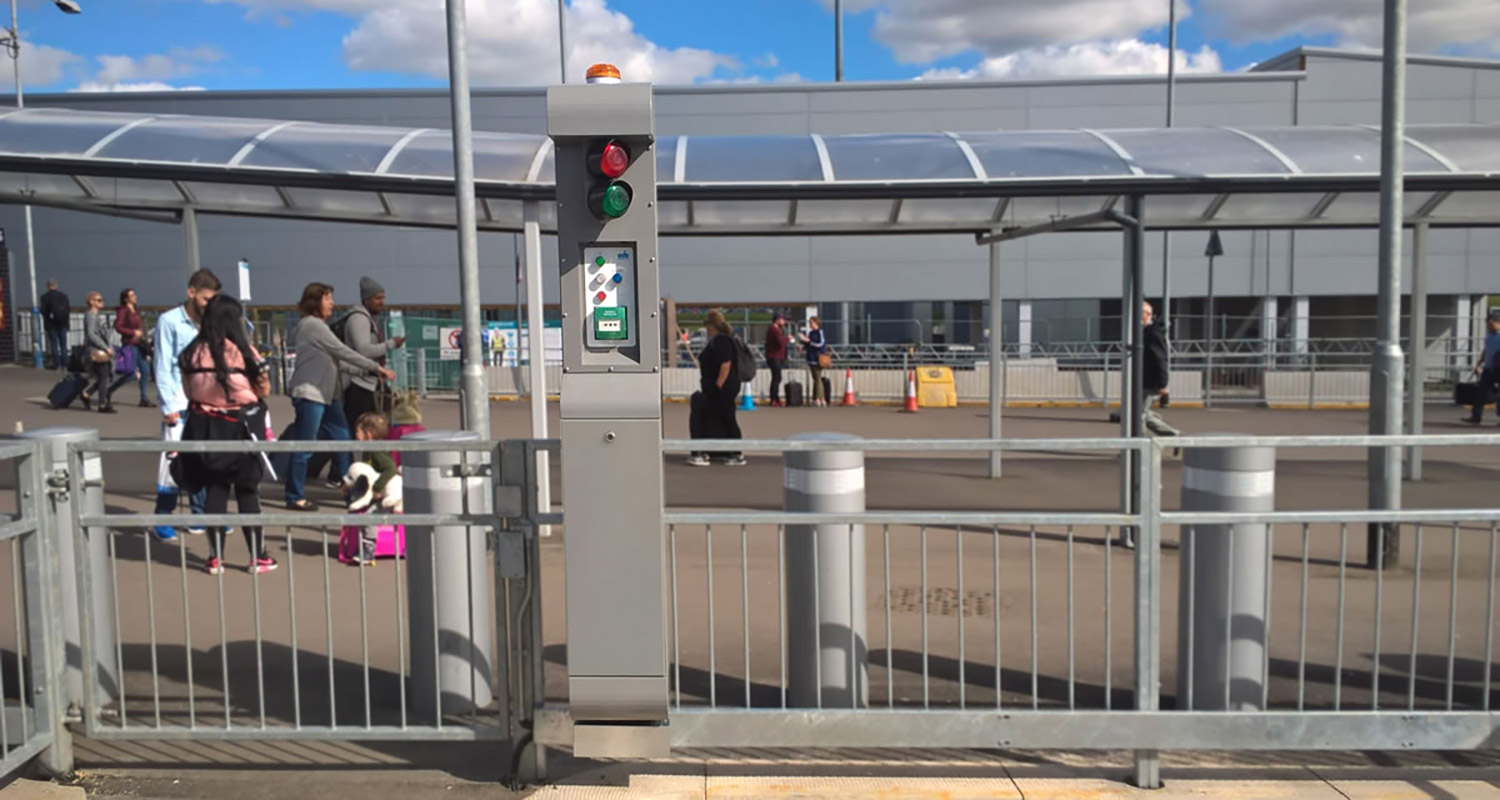 Custom traffic management solution in use at London Luton Airport