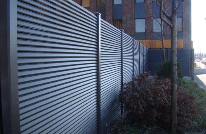 Custom designed boundary fencing