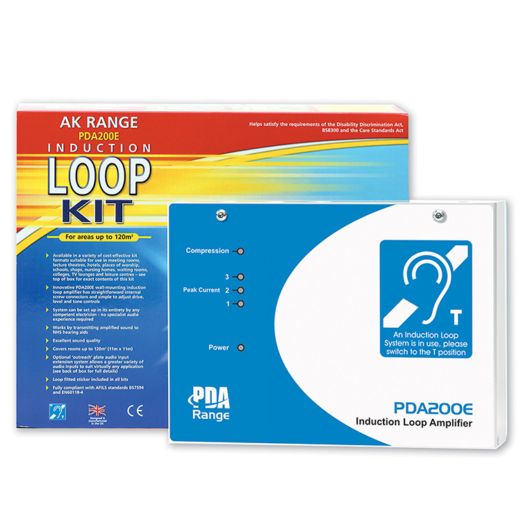 Photo of wide range induction loop system