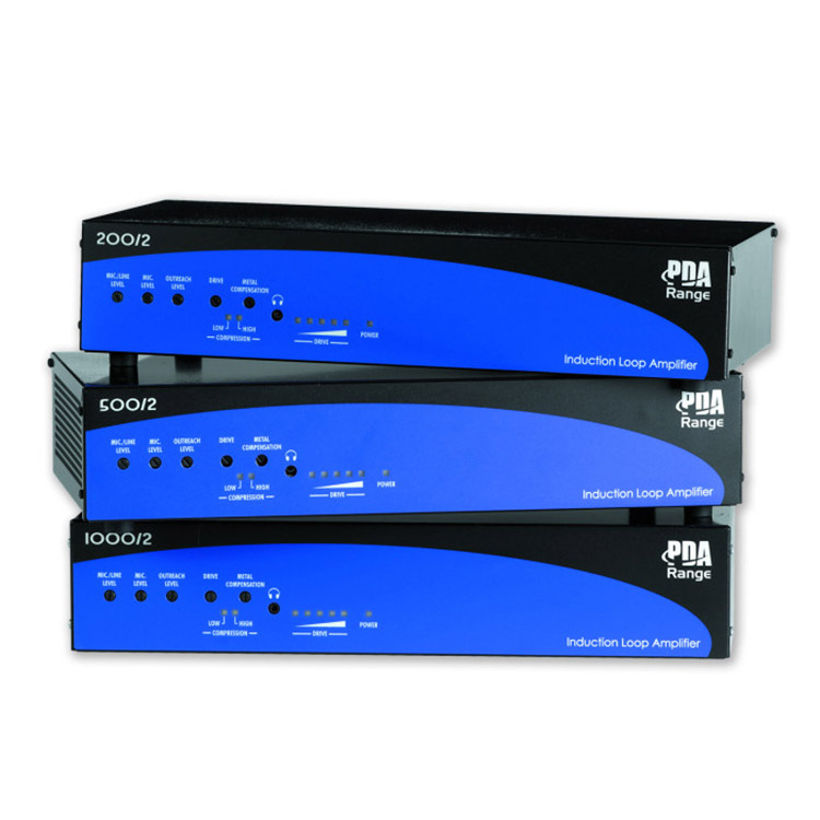 Photo of induction loop amplifiers