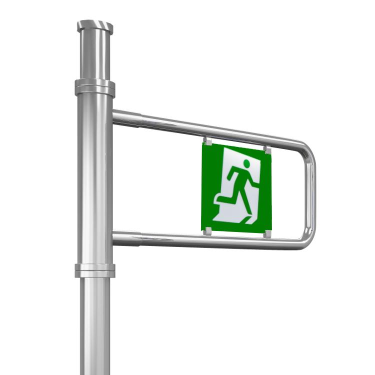 Emergency exit gate