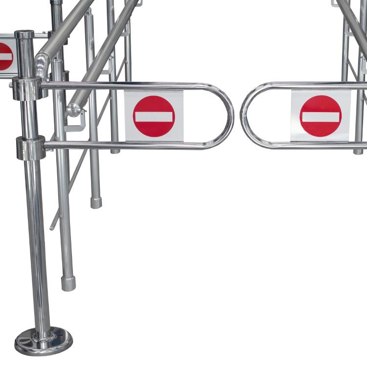 EDSUKBR1 modular queue management rail with supermarket style gates