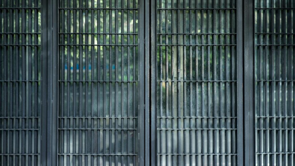 Entrance grille